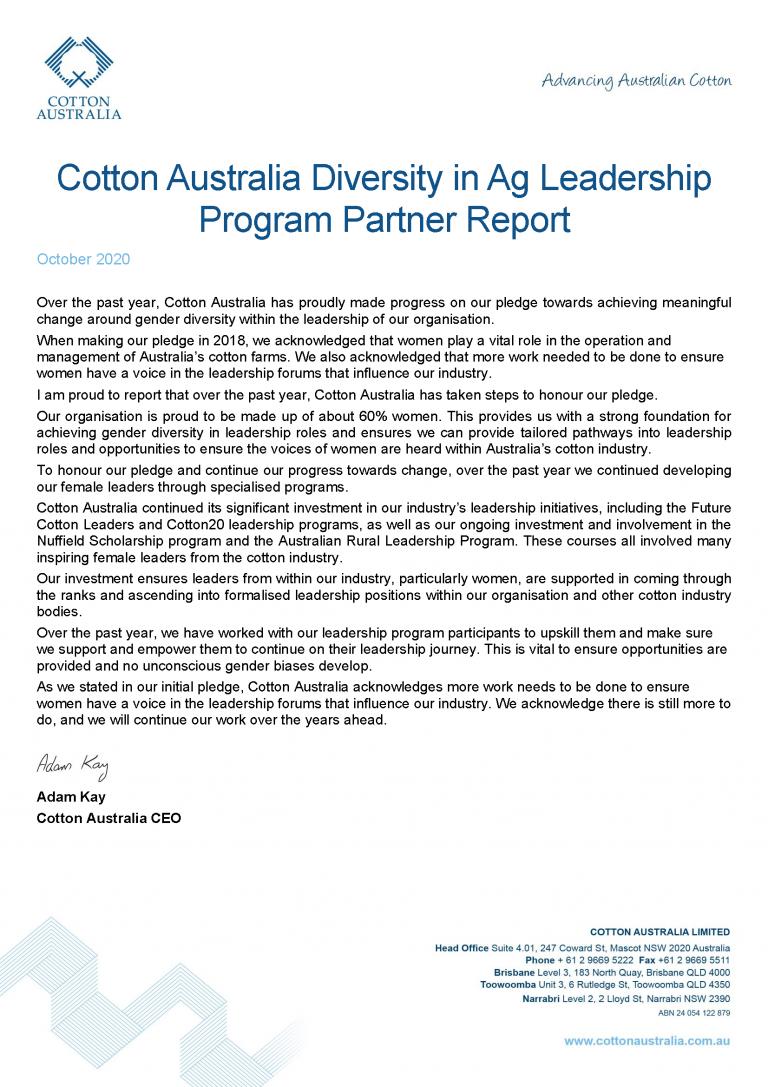 Cotton Australia