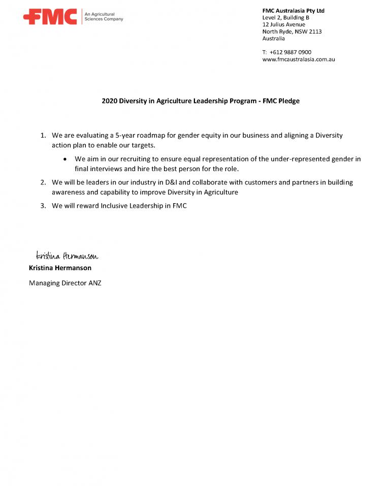 FMC NFF Pledge